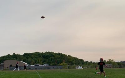 CVU returns to play pandemic-safe football — without tackle