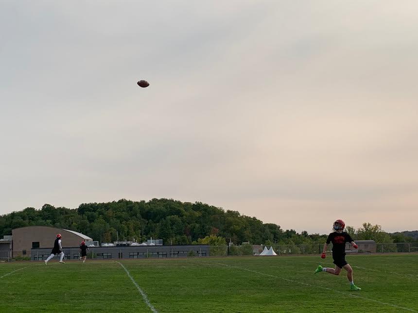 CVU returns to play pandemic-safe football — without tackle