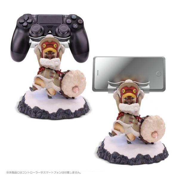 PS4 魔物獵人:Iceborne 隨行艾路支架 彩色版公仔 / MHW - 電玩國度 購物網