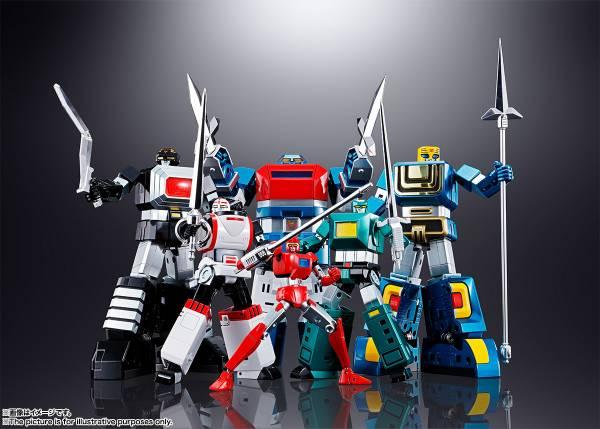 BANDAI 超合金魂 GX40-R 六神合體 雷霆王 - 模型格納庫 HOBBY GARAGE | 鋼彈模型玩具公仔景品PVC預購專賣店
