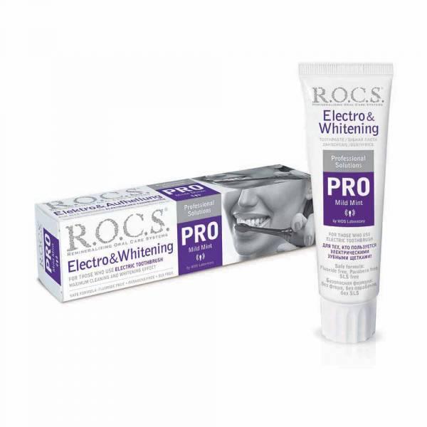R.O.C.S 電動牙刷專用牙膏 100ml/135g - ビハク審美 | 淨白美齒專家