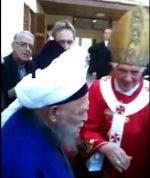Scheich Nazim und Papst