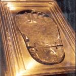 Fußabdruck des Propheten Muḥammad
