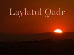laylatu l-qadr