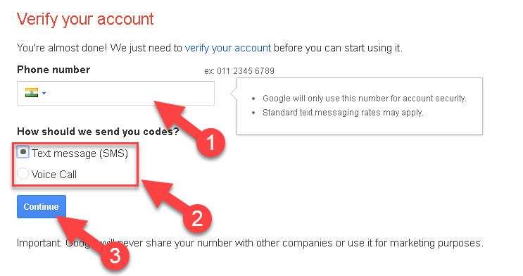 Google Gmail Account
