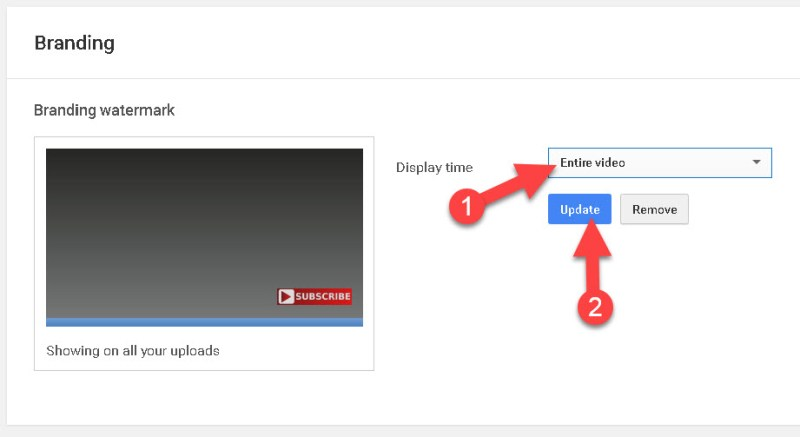 Youtube Ki Sabhi Video Me Subscribe Button Kaise Add Kare