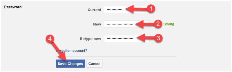 Facebook Ka Password Change Kaise Kare