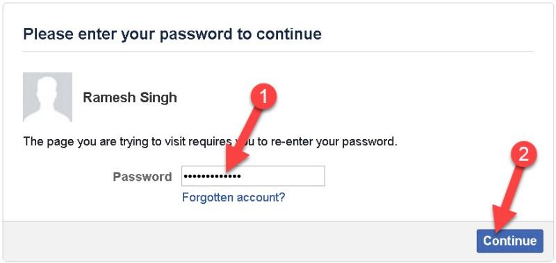 Facebook Account Deactivate2