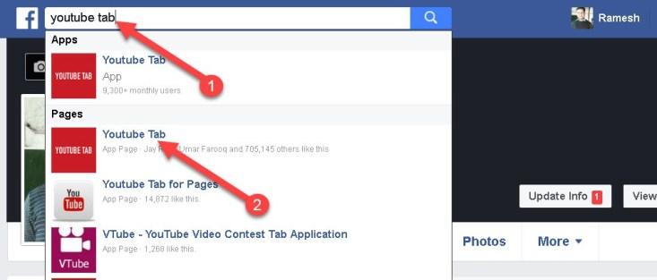 Youtube Videos Ko Facebook Page Se Link