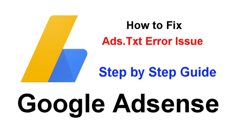 Google AdSense Me Ads.txt Error Ko Fix Kaise Kare