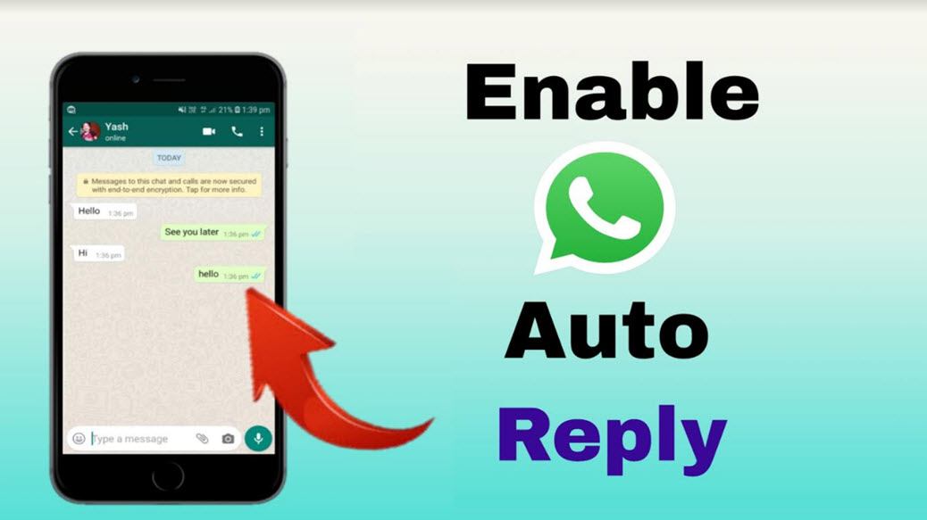 Whatsapp Messenger Auto Reply Kaise Enable Kare – Whatsapp Trick