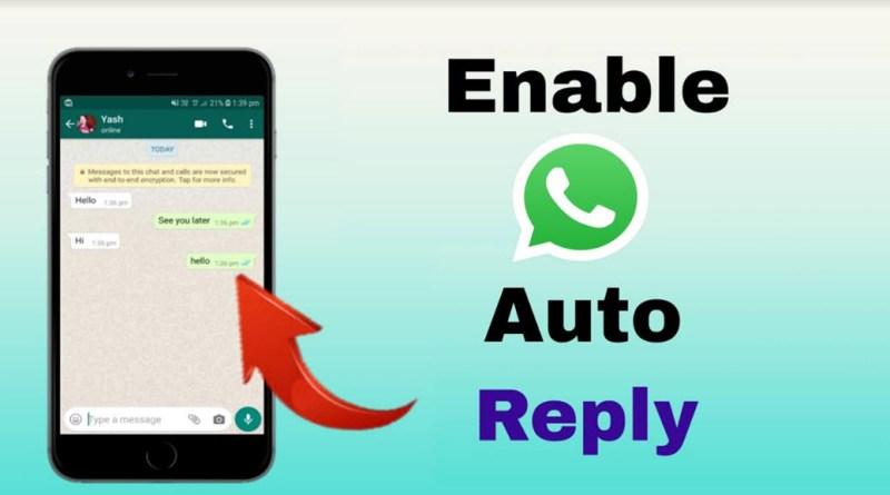 Whatsapp Messenger Auto Reply Kaise Enable Kare