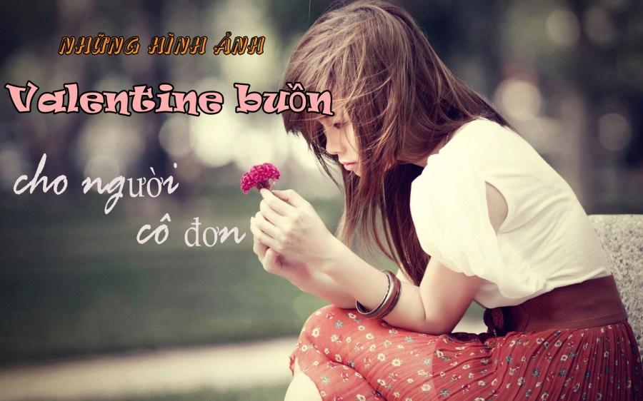 Những hình ảnh Valentine buồn cho người cô đơn