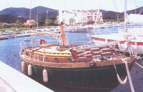 Hafen von Macinaggio (Korsika)
