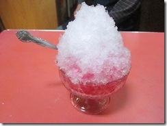 ぼたん食堂さんかき氷