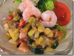 夏野菜のさといも麺2014