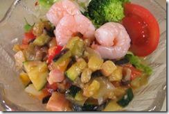 夏野菜のさといも麺2014 (2)