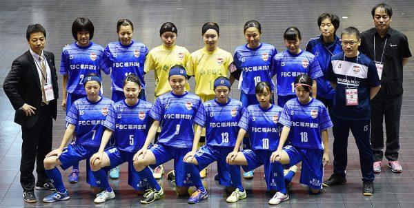 福井丸岡RUCK 日本女子フットサルリーグ ひの歯科クリニック マウスガード