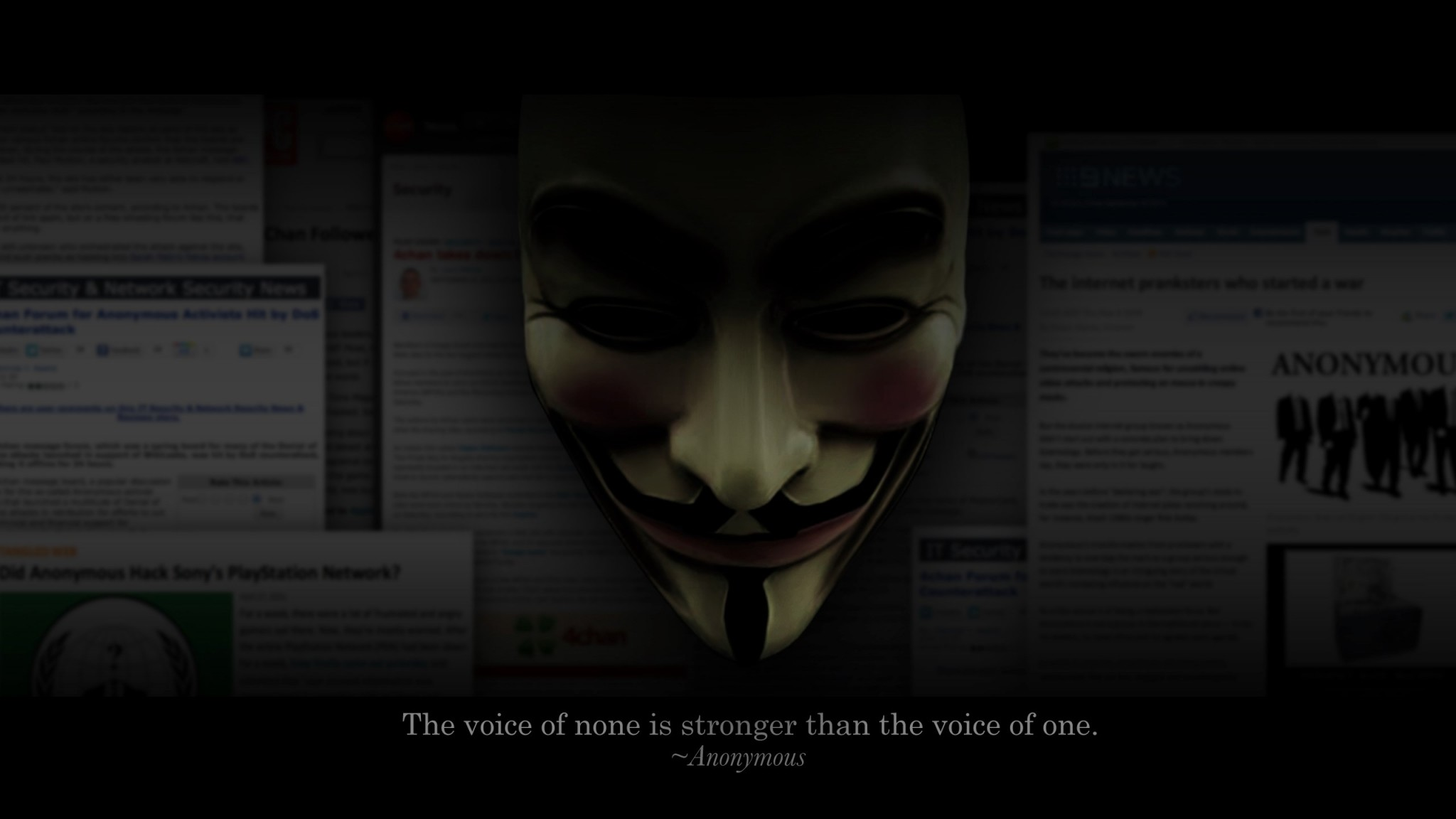 Die 81 Besten Anonymous Wallpapers