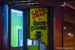 Cash Only Quick Clearance