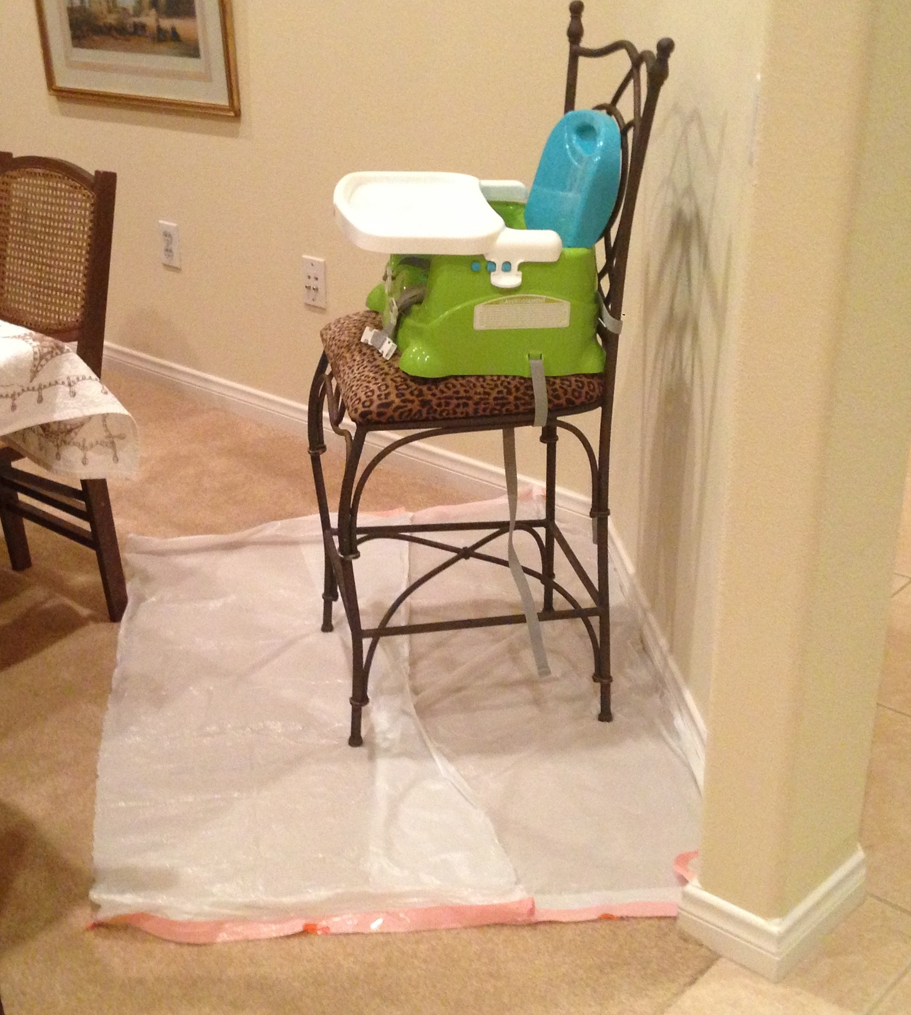 high chair floor mat nz french bergere dining chairs todays hint diy disposable splat mats  mama