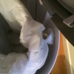 Tall Kitchen Garbage Can Island For Ikea Today's Hint: Use Regular Trash Bags In Diaper Bins ...