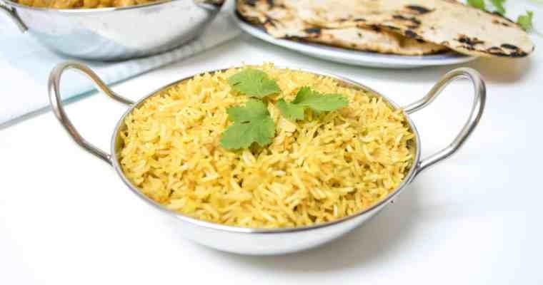 Aromatic Pilau Rice