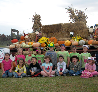 School Group Tours of Hinton's Orchard