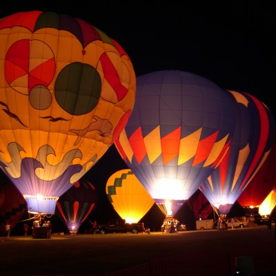Hinton's Halloween Party & Hot Air Balloon Glow