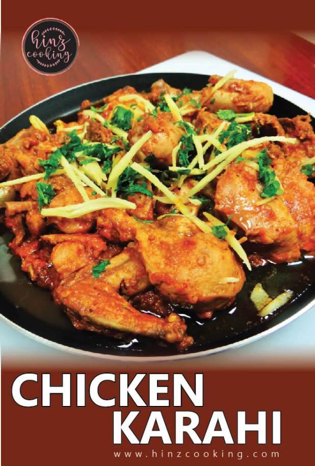 how to make chicken karahi