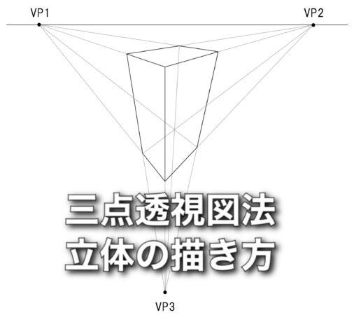 図法 透視 透視図法の理屈と使い方