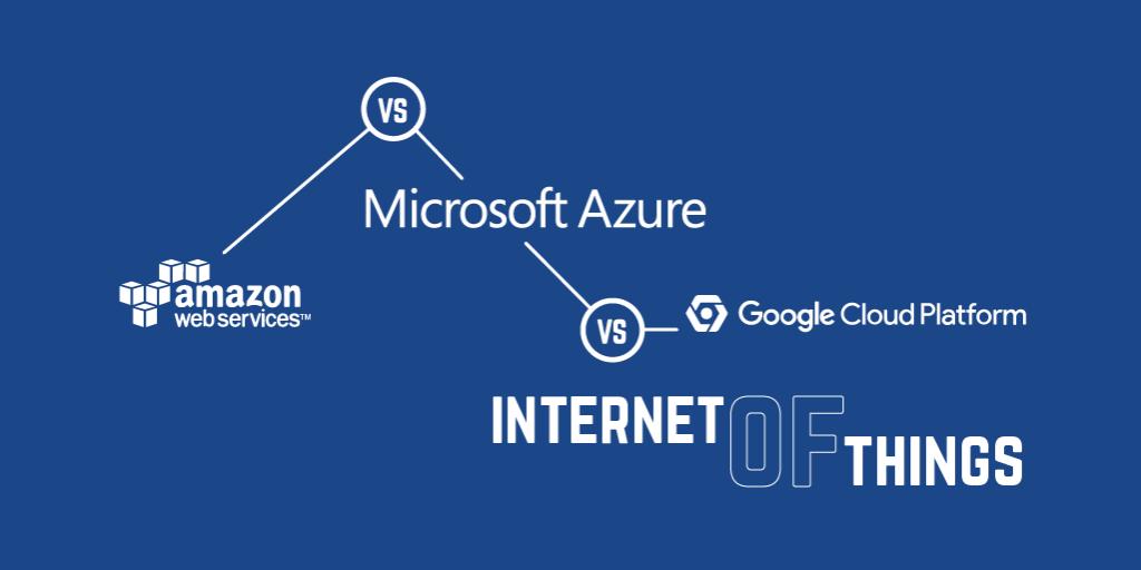 AWS vs Azure vs Google Cloud Platform Internet of Things | Iot Blog