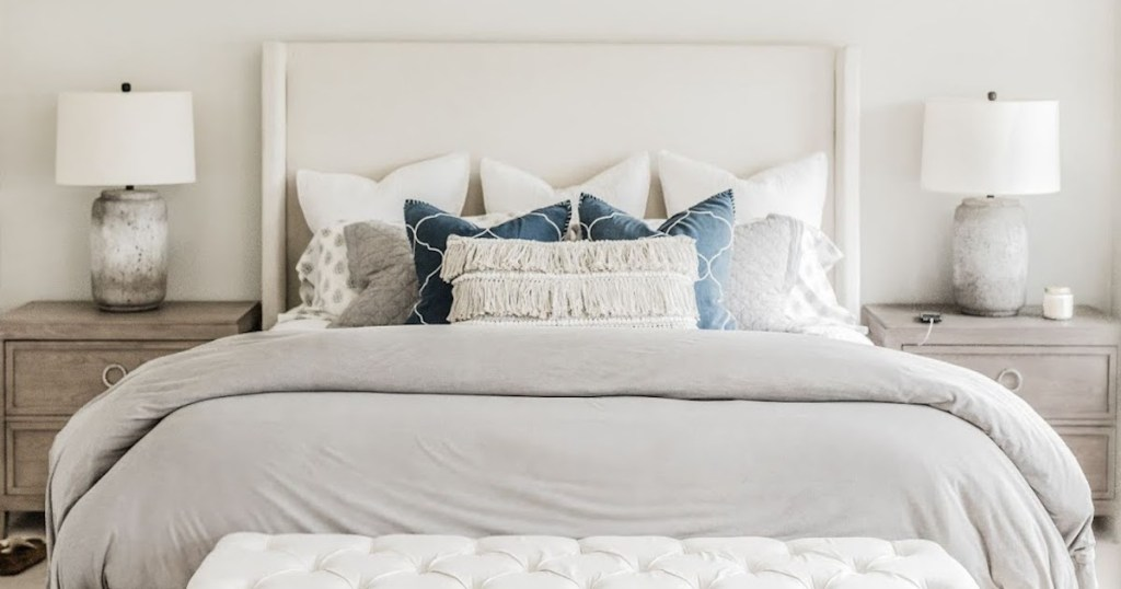 how often to clean your bed - clean bedding pillows sara's master bedroom