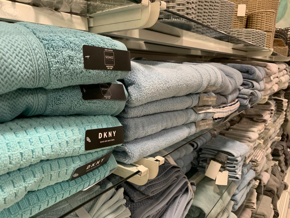 Towels at TJ Maxx