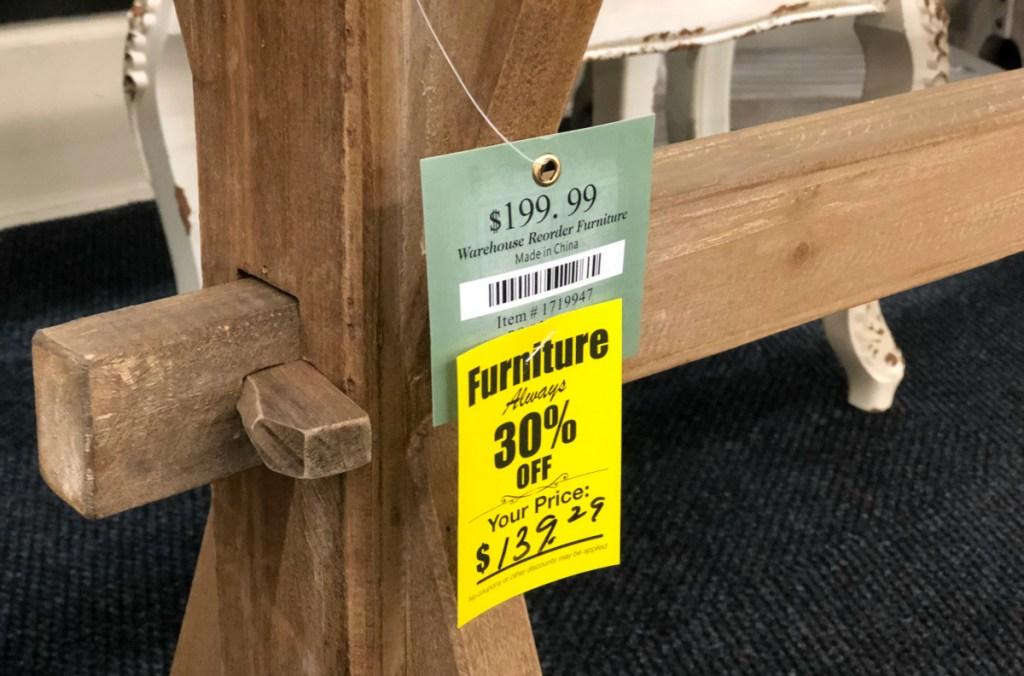 Hobby Lobby Furniture sale