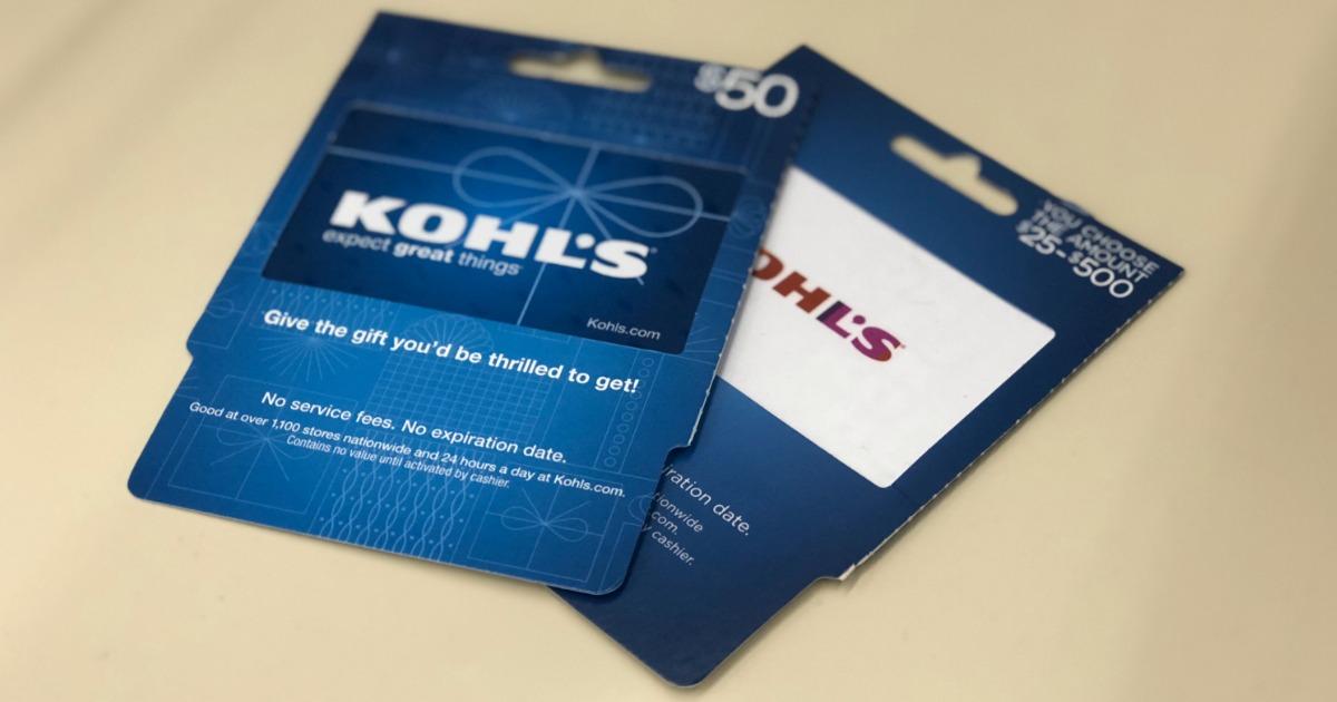 kohls gift cards