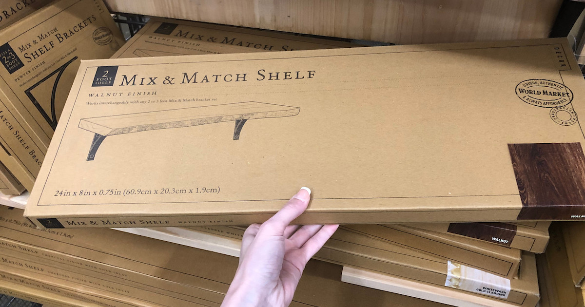 shelf in box