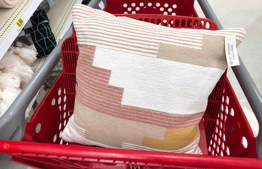 target throw pillows — geometric print throw pillow