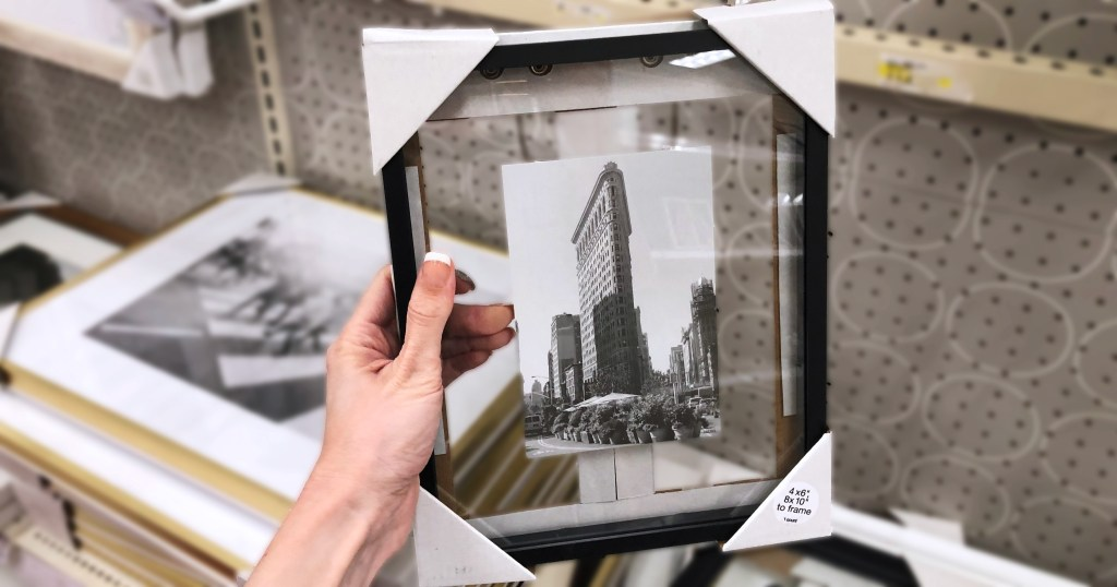 image floating glass panel picture frame