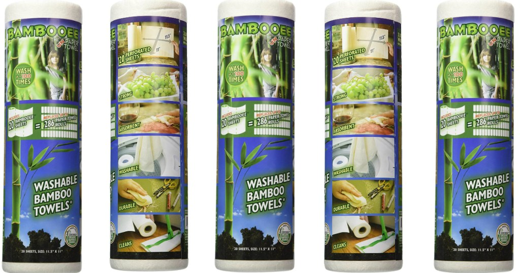 Bambooee washable paper towels