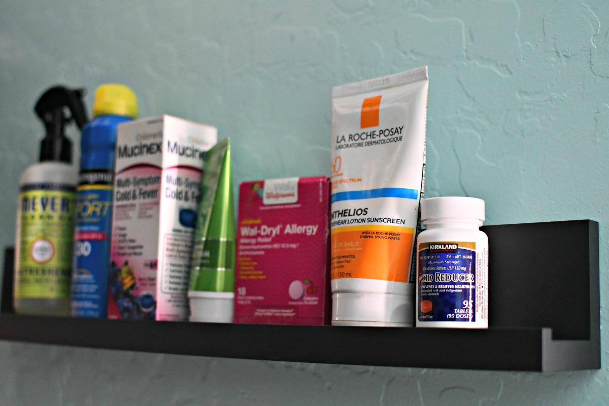mand strip medicine cabinet