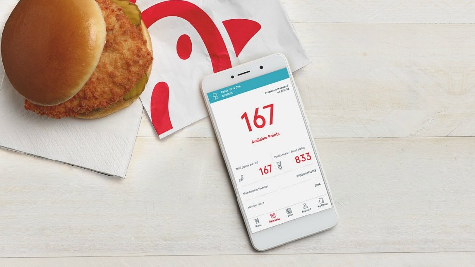 Get free chick-fil-a grilled chicken nuggets when you download this Chick-fil-A One app