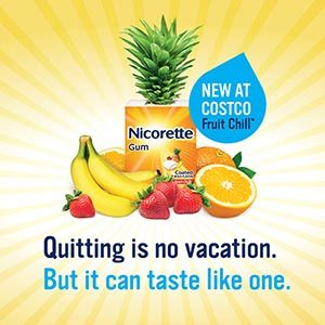 Everybody loves freebies! : free nicorette nicotine gum sample.