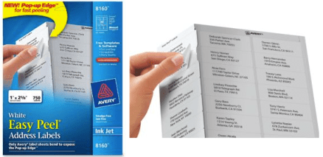 staples free avery labels after easy rebate hip2save