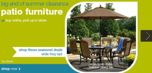 off patio furniture