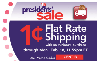 JoAnn com: 1¢ Flat Rate Shipping (Ends Today!) = Great Deals on