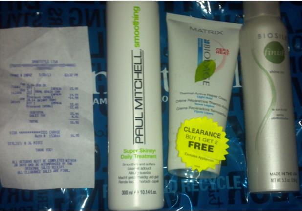 Walmart hair salon products