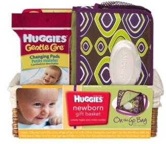 Target Daily Deal Huggies Newborn Gift Basket 17 Regularly 24 99