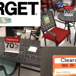 Target Patio Outdoor Furniture Up To 70 Off Cartwheel Savings Offers Lots Of Great Deals Hip2save