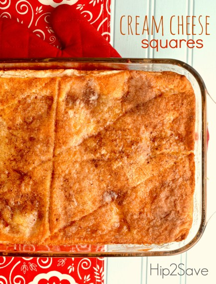 Cream Cheese Squares Recipe Hip2Save